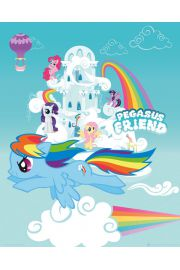 My Little Pony Pegasus Friend - plakat