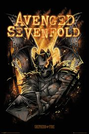 Avenged Sevenfold Sheperd of Fire - plakat