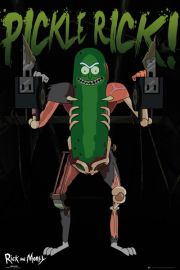 Rick and Morty Pickle Rick - plakat