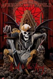 Avenged Sevenfold Hail to the King - plakat
