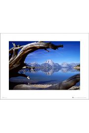 Tom Mackie Lakes And Mountains - art print