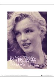 Marilyn Monroe Love - art print