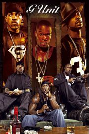 G-Unit - Montage - 50 Cent - plakat