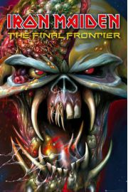 Iron Maiden Final Frontier - plakat