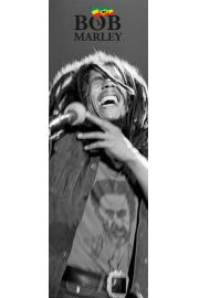 Bob Marley Black and White - plakat