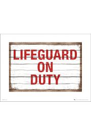 Lifeguard On Duty - plakat premium