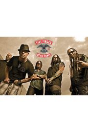 Five Finger Death Punch - plakat