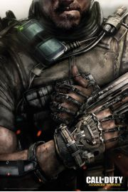 Call of Duty Advanced Warfare Egzoszkielet - plakat
