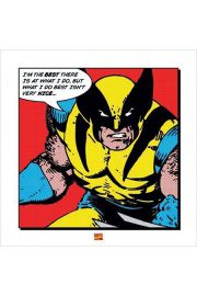 Wolverine I'm The Best - reprodukcja