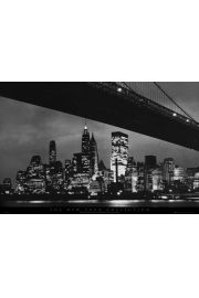 Nowy Jork - Brooklyn Bridge - plakat