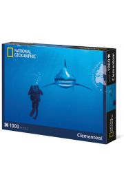Puzzle 1000 National Geographic Whitetip shark