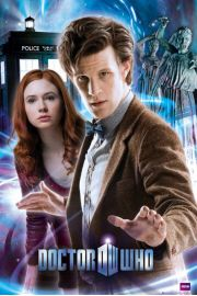 Doctor Who the doctor & amy - plakat