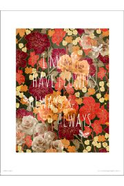 Flowers Always - plakat premium