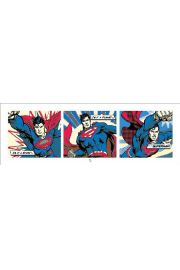Superman Pop Art Triptych - plakat premium