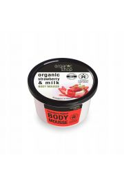 Mus Do Cia�a Truskawkowy Jogurt 250 Ml - Organic Shop