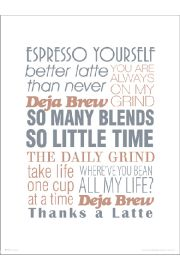 Espresso Yourself - art print