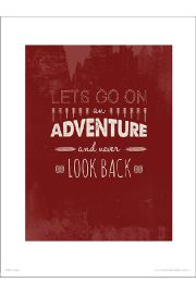 Adventure Red - art print