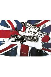 Sex Pistols Anarchy in the UK- plakat