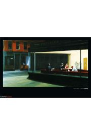 Nighthawks - Edward Hopper - art print
