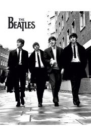 The Beatles w Londynie - plakat