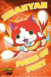 Yo-Kai Watch Paws of Fury - plakat