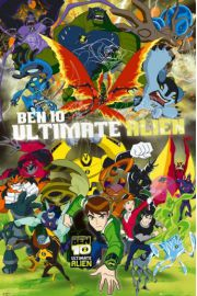Ben 10 Ultimate Alien Obsada - plakat