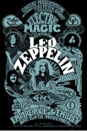 Led Zeppelin Wembley - plakat