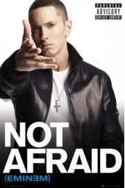 Eminem Not Afraid - plakat