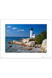 Tom Mackie Lighthouse - art print