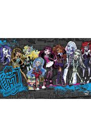 Monster High Upiorna Szkoła Obsada - plakat