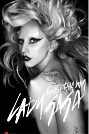 Lady Gaga Born This Way - plakat