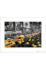 New York Umbrellas - art print