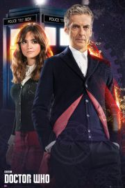 Doctor Who Clara and Doctor - plakat