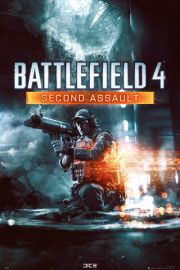 Battlefield 4 Second Assault - plakat