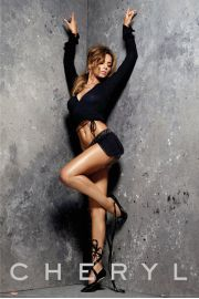 Cheryl Cole Stretching - plakat