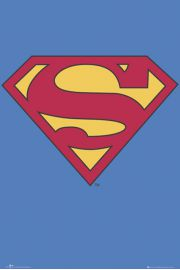 Superman Logo - plakat