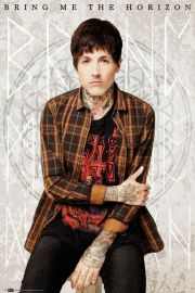 Bring Me The Horizon - Oliver Sykes - plakat