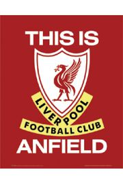 FC Liverpool This Is Anfield - Godło Klubu - plakat