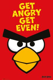 Angry Birds Get Angry Get Even - plakat