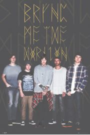 Bring Me The Horizon Black - plakat