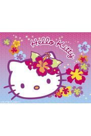 Hello Kitty Kwiatki - plakat