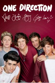 One Direction - Maroon - plakat
