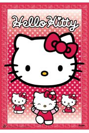 Hello Kitty - plakat 3D