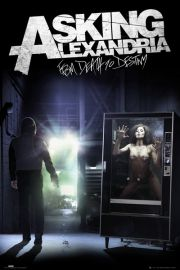 Asking Alexandria From Death to Destiny - Akt - plakat