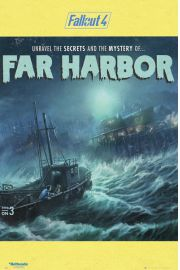 Fallout 4 Far Harbour - plakat