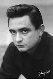 Johnny Cash Autograf - plakat