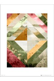 Abstract Wilderness Pink - art print