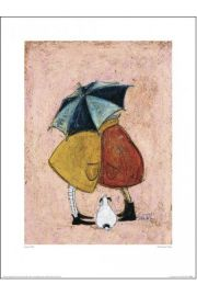Sam Toft A Sneaky One - plakat premium