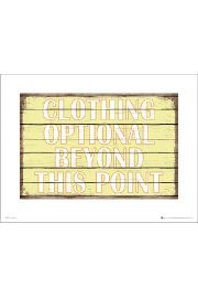 Clothing Optional - art print