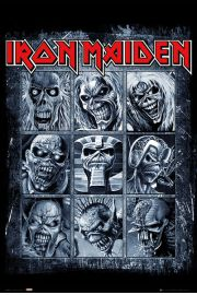 Iron Maiden Eddies - plakat